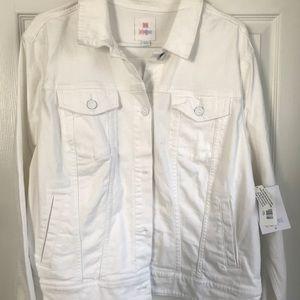 ALL WHITE Harvey Jacket by LuLa Roe